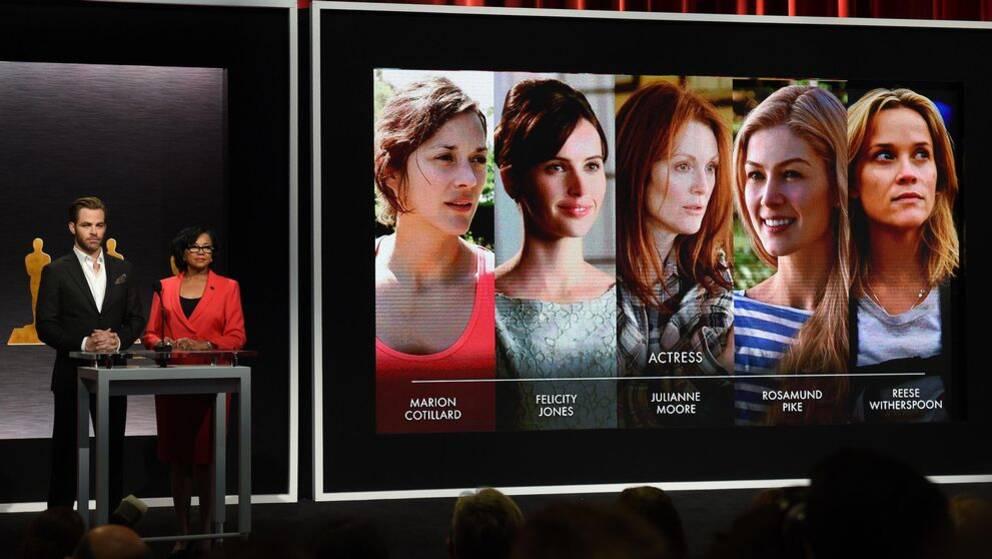 De nominerades i kategorin Bästa kvinnliga skådespelare.