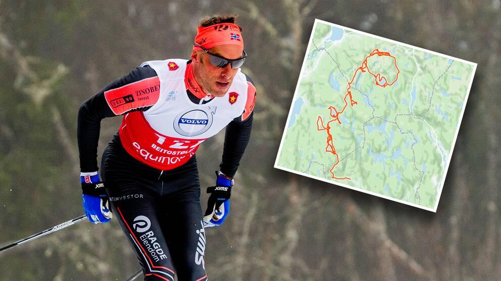 OS-guldmedaljören Anders Aukland håller i gång än.