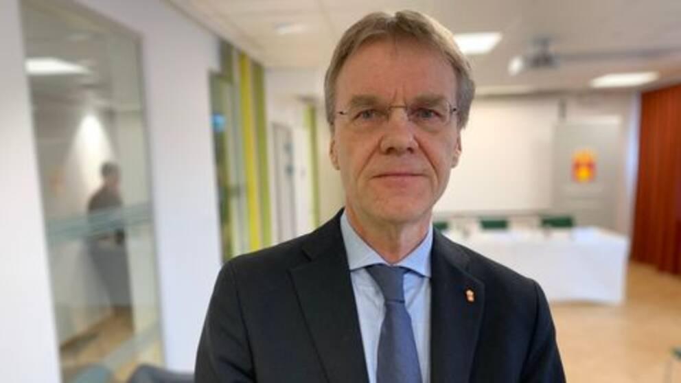 Göran Enander, landshövding Uppsala län