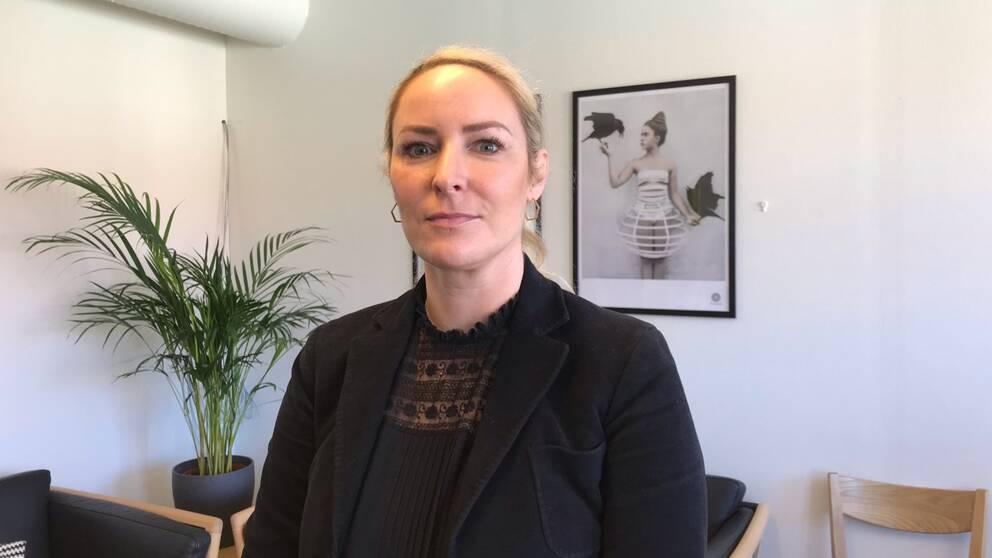 Sara Paulsdotter Hellberg, verksamhetschef på ATIM kvinno- och ungdomsjour.