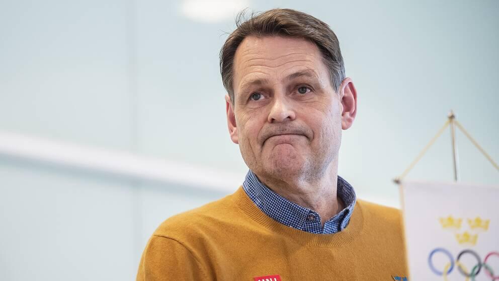 Peter Reinebo, SOK, blev inte förvånad över OS-beslutet.