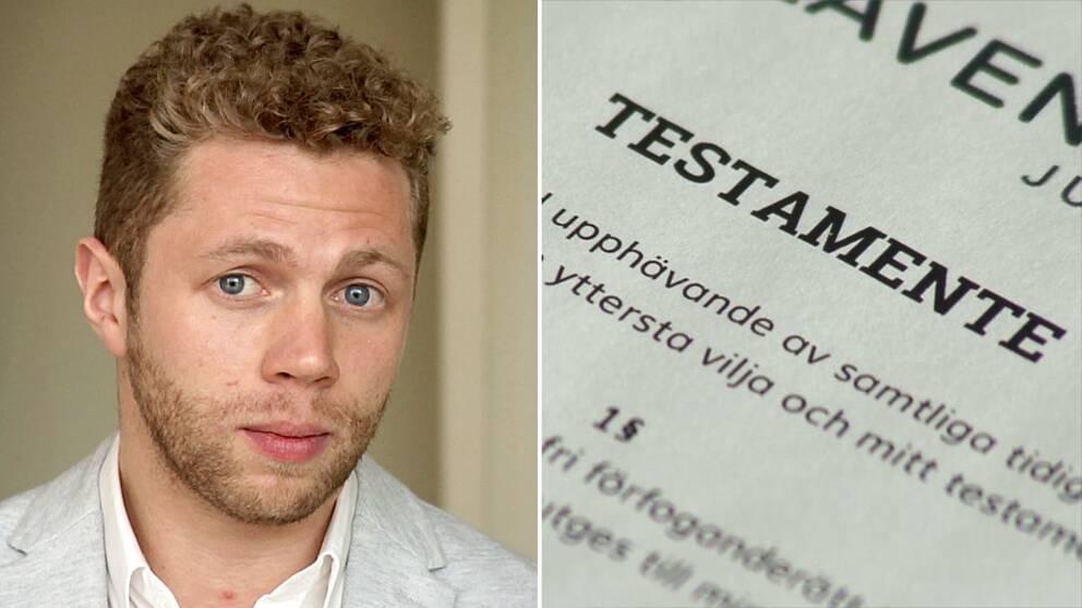 Chefsjuristen Timothy Prellwitz på Lavendla tipsar vid testamenteskrivning.