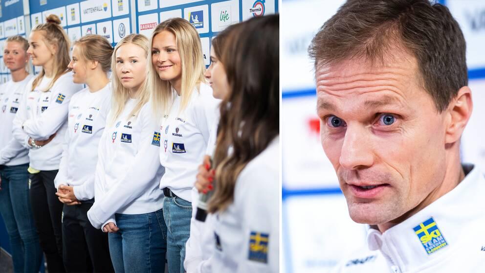 Längdchefen Daniel Fåhraeus känner inte till något missnöje bland åkarna.