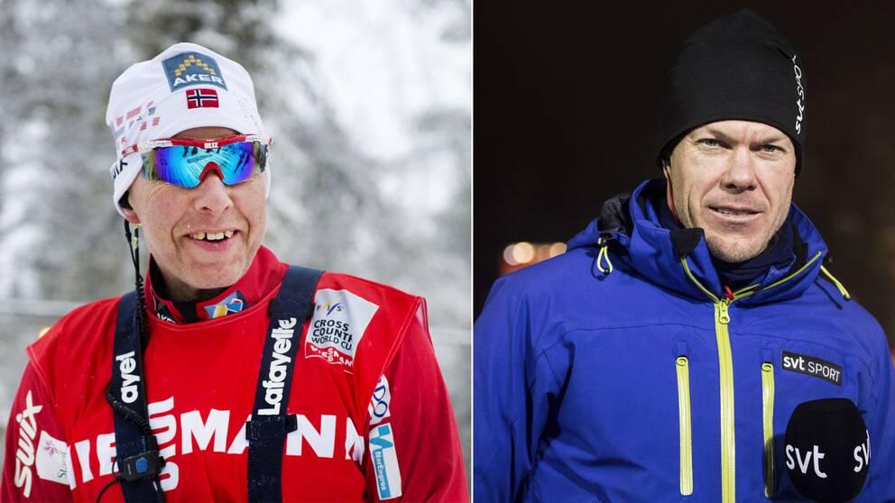 Perry Olsson och Mathias Fredriksson.