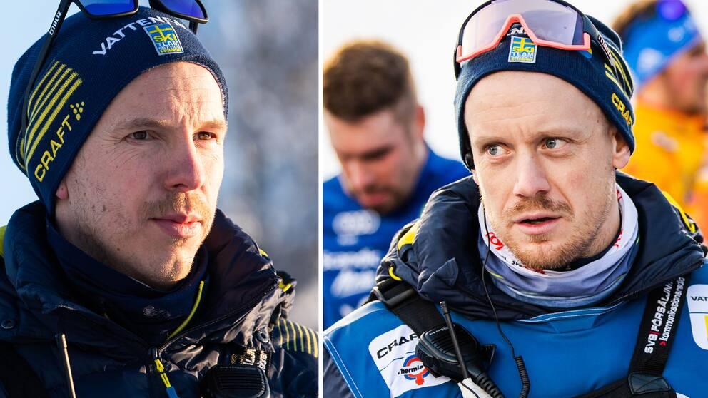 Fredrik Uusitalo och Mattias Nilsson slutar som herrtränare i landslaget.