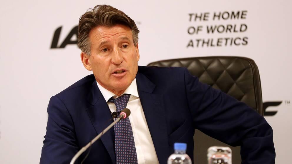 Sebastian Coe, ordförande i World Atheltics.