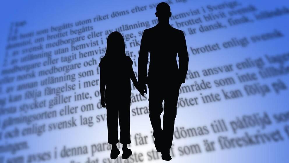 Bild på ett gift par