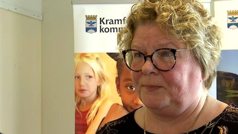 Inger Bergström, chef för välfärdsförvaltningen i Kramfors.