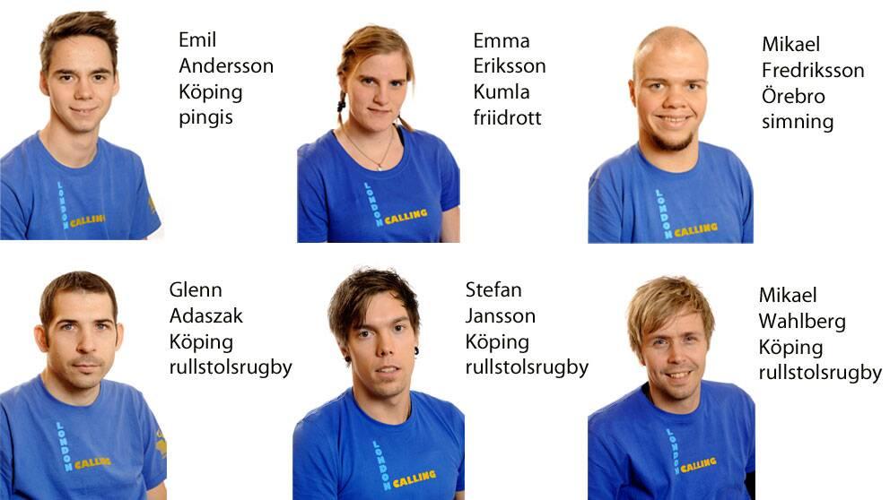 Deltagare i Paralympics från Tvärsnyttområdet 2012