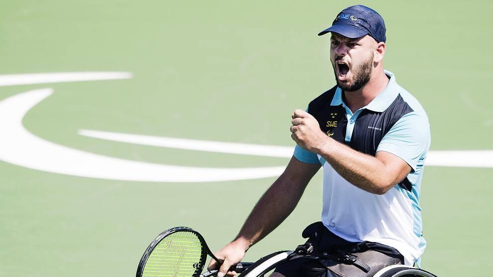 Paralympiern Stefan Olsson.