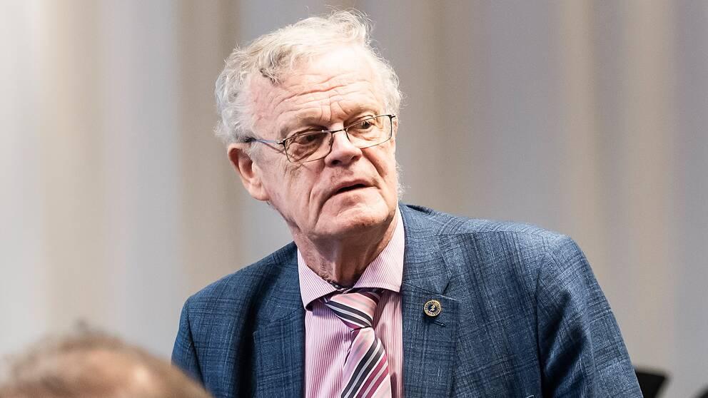 Björn Eriksson, ordförande på RF.