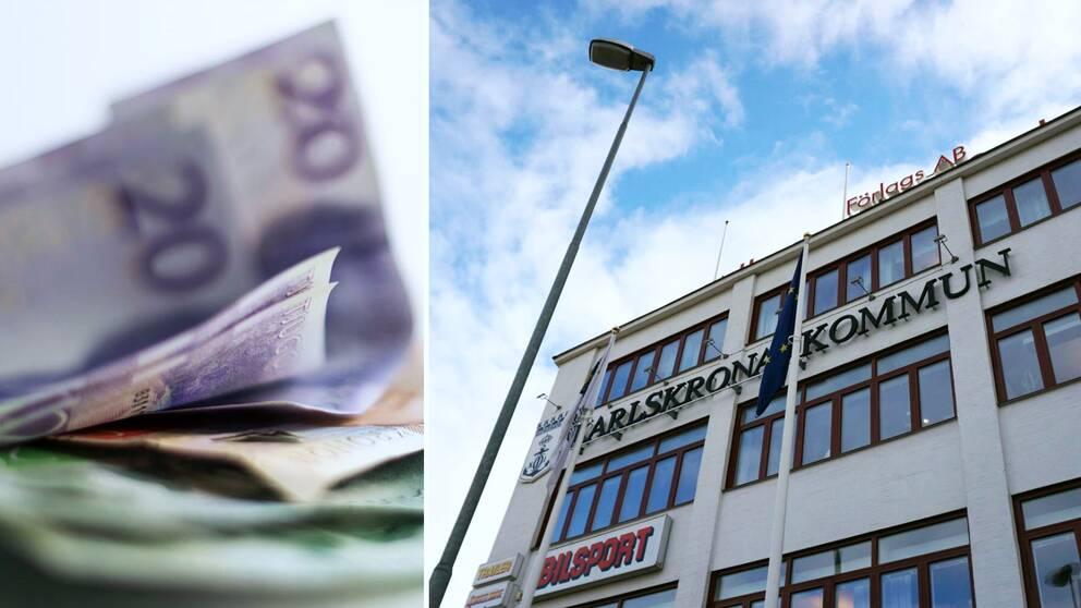 pengar, Karlskrona kommun