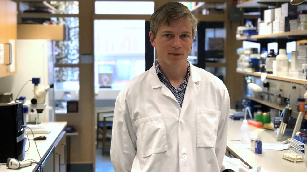 På bilden syns Jakob Löndahl som är docent i aerosolteknologi vid LTH.