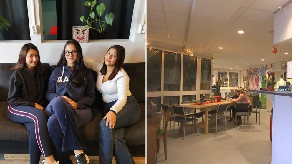 Martina Zekić, Mira Petković och Snezana Jacić har uppskattat att fritidsgården varit öppen på dagtid.