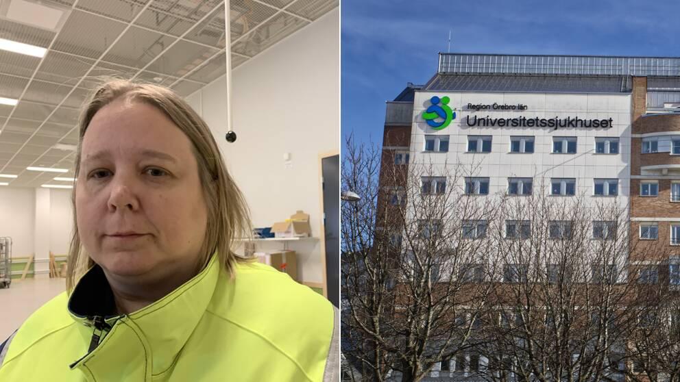 Monika Andersson, kommunikatör på Zink Mining till vänster och USÖ till höger