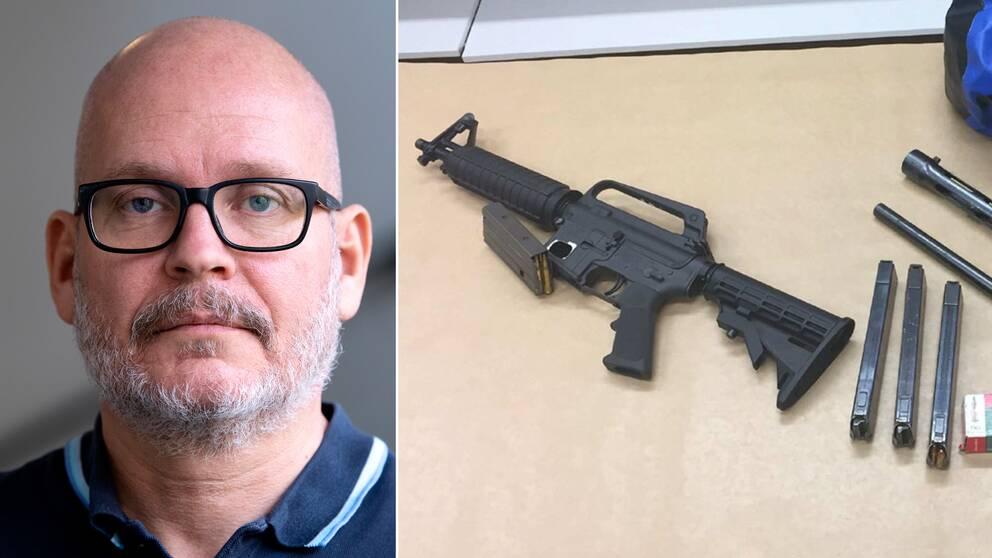 """""""Dethar skettenförgrovningav våldsbrotten"""", säger JonasÖberg, utredare på Brå."""