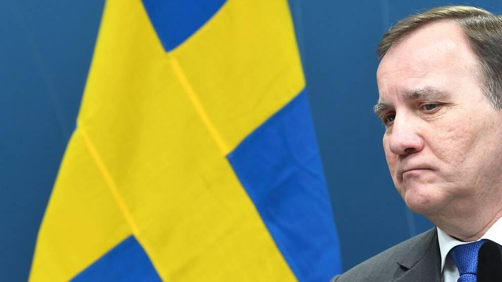 Statsminister Stefan Löfven ( S)