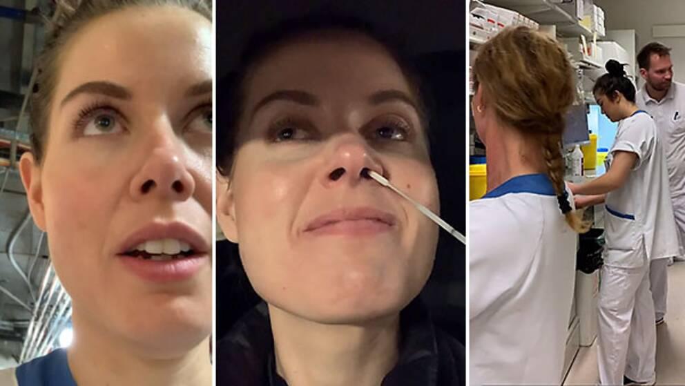 Sofia Lindström är specialistsjuksköterska på Akademiska sjukhuset i Uppsala – det här är hennes berättelse