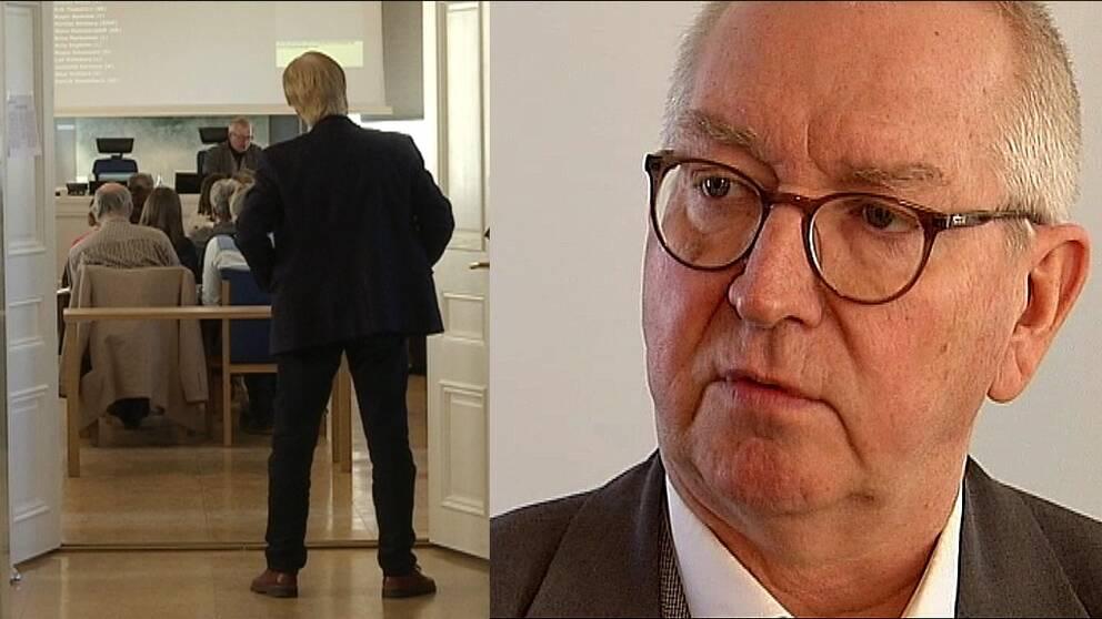Jan-Olov Häggström, (S) ordförande i regionfullmäktige.