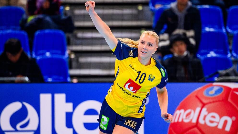 Mathilda Lundström har gjort 34 A-landskamper.