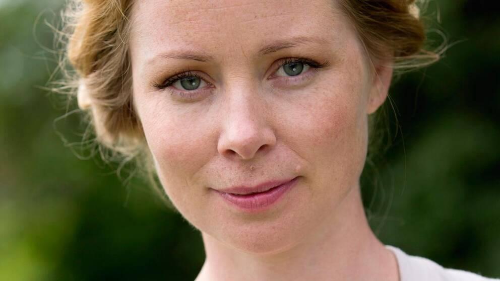 Skådespelaren Julia Dufvenius