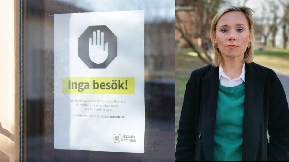 Caroline Hoffstedt (S) ordförande äldrenämnden i Uppsala