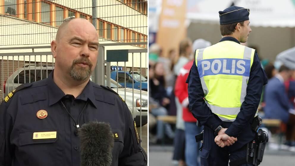 Nationella huvudskyddsombudet Patrik Danielsson: – Vi har arbetsuppgifter som gör det omöjligt för oss att inte komma nära andra människor.