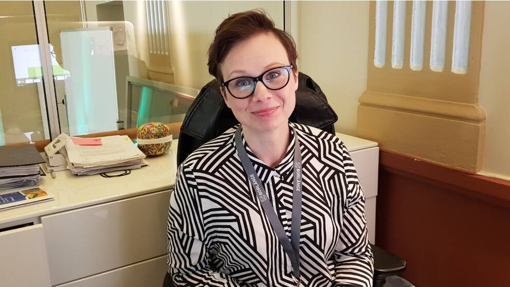 Sofia Axelsson Lekare på kultur- och fritidsförvaltningen i Borlänge