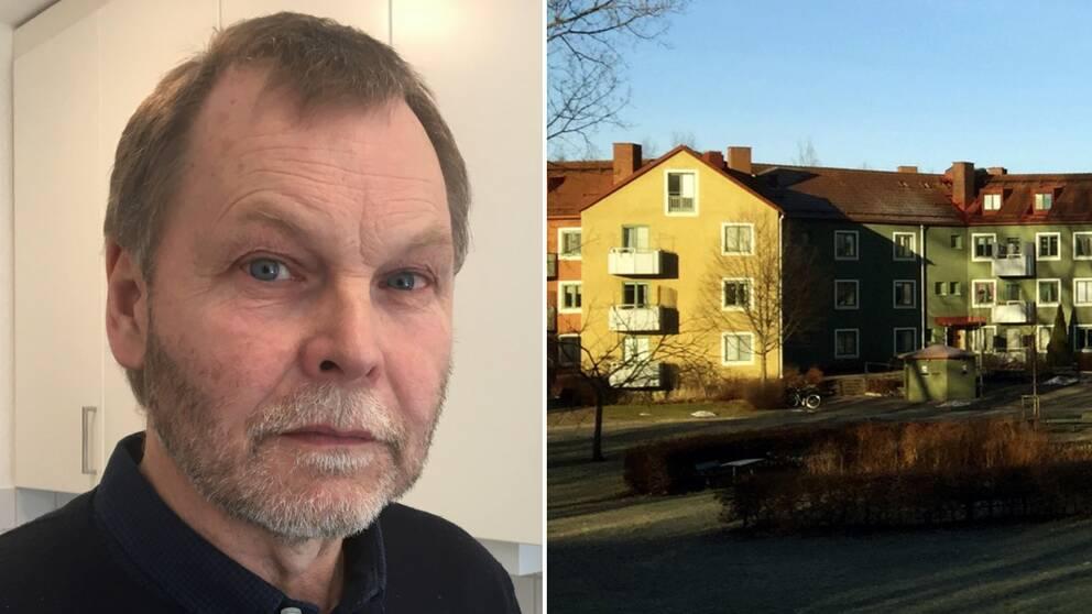 Per Åberg, bostadschef på Öbo och Stjärnhusen.