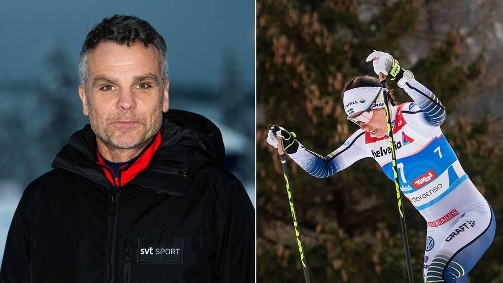 Anders Blomquist och Charlotte Kalla.