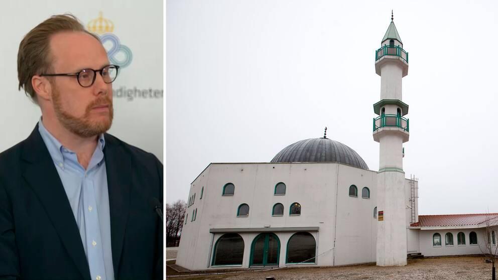 Max Stockman, handläggare på Myndigheten för stöd till trossamfund