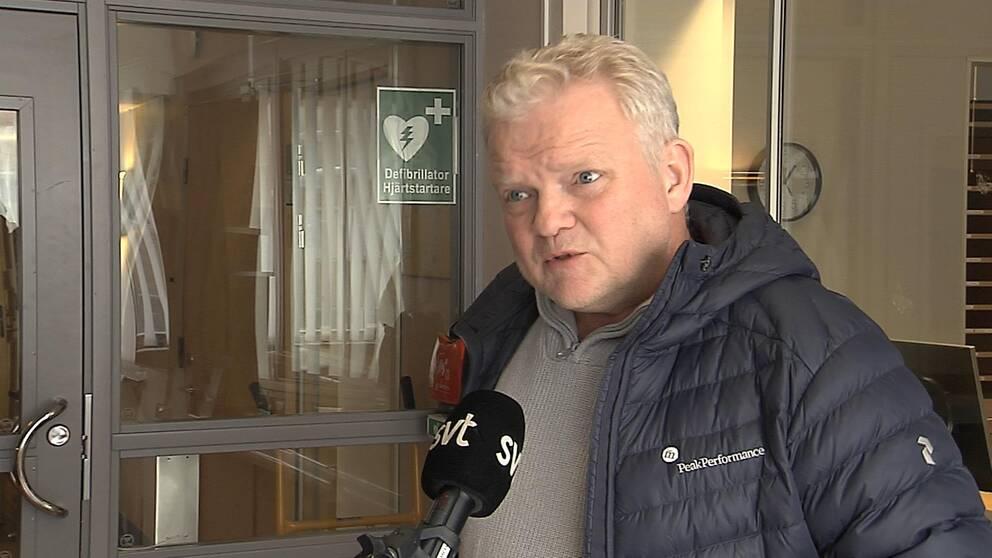 Michael Karlsson (M), oppositionsråd i Åmål.