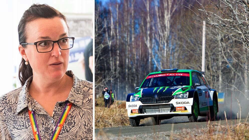 RF:s Elin Johansson berättar att man bevakar Bilsportförbundet extra mycket inför årsmötet.