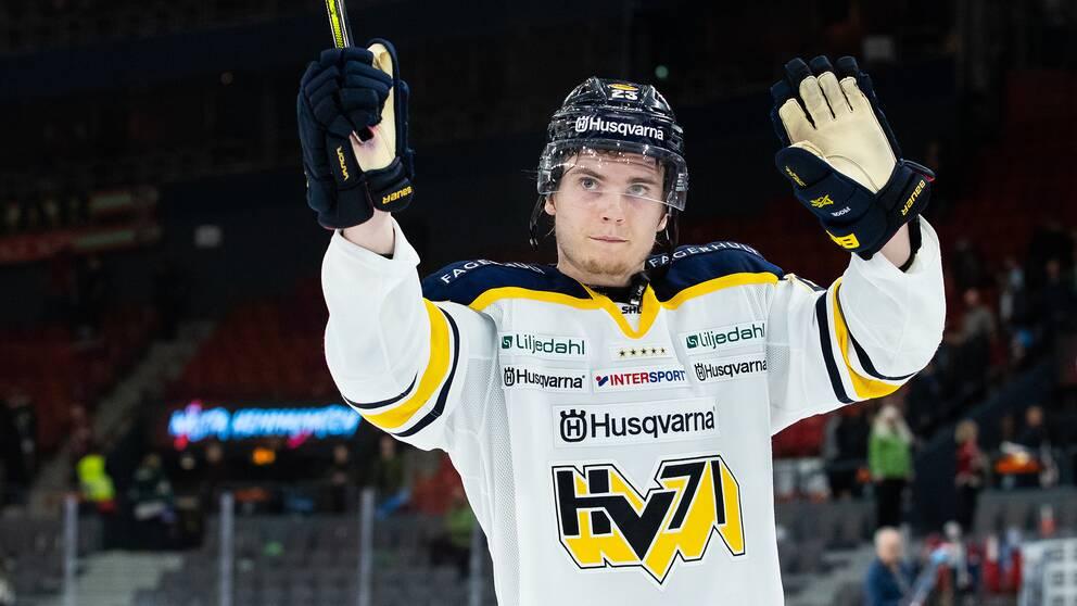 Lias Andersson, här i HV71.