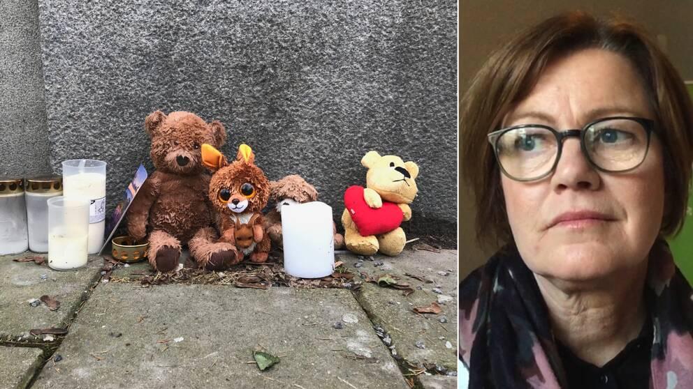 Treåringen hittades död den 30 januari. Yvonne Thilander är socialdirektör i Norrköping.