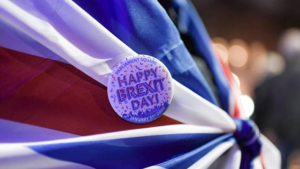 Storbritannien lämnade formellt EU den 31 januari, men lyder under övergångsregler fram till den 31 december i år.