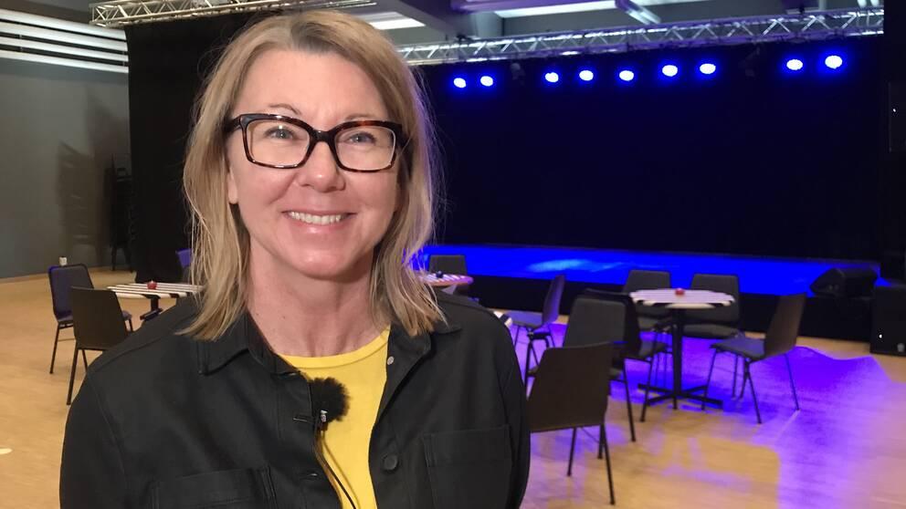 Jeanette Winberg, chef för kulturförvaltningen på Halmstads kommun.