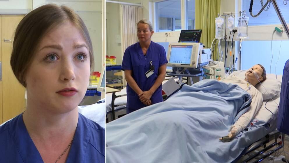 Sköterskor snabbutbildas inom Iva
