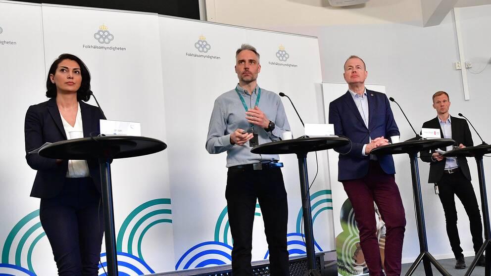 Fadas Fran Folkhalsomyndigheten Backar Om Coronasiffra I Stockholm Svt Nyheter