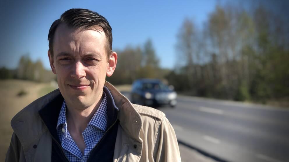 Jesper Brandberg (L), ordförande i fastighetsnämnden i Västerås stad.