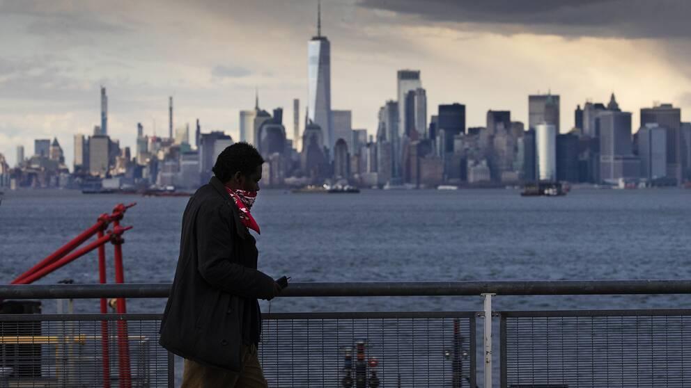 New York City är hårt drabbat av coronapandemin