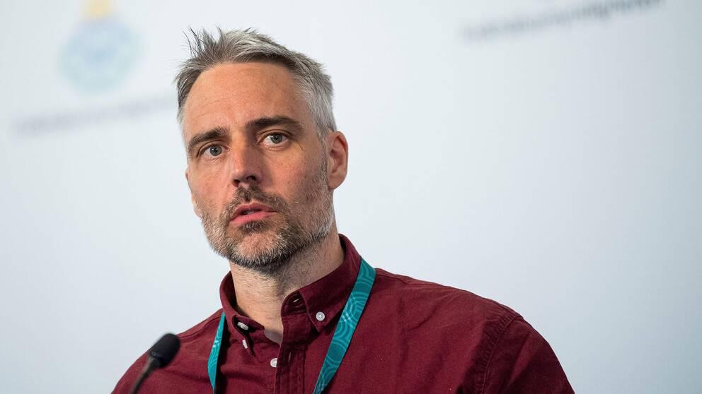 Anders Wallensten, biträdande statsepidemiolog, Folkhälsomyndigheten