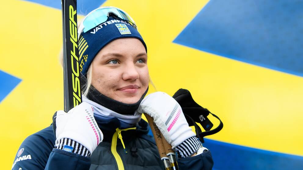 Linn Svahn vann sprintvärldscupen under sin debutsäsong.