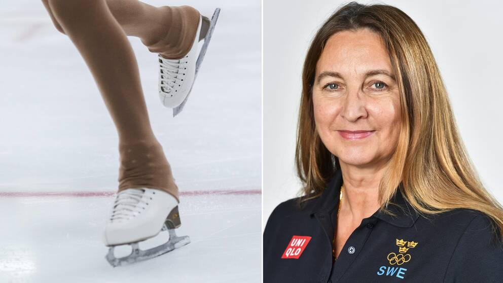 Katarina Henriksson, ordförande Svenska konståkningsförbundet.