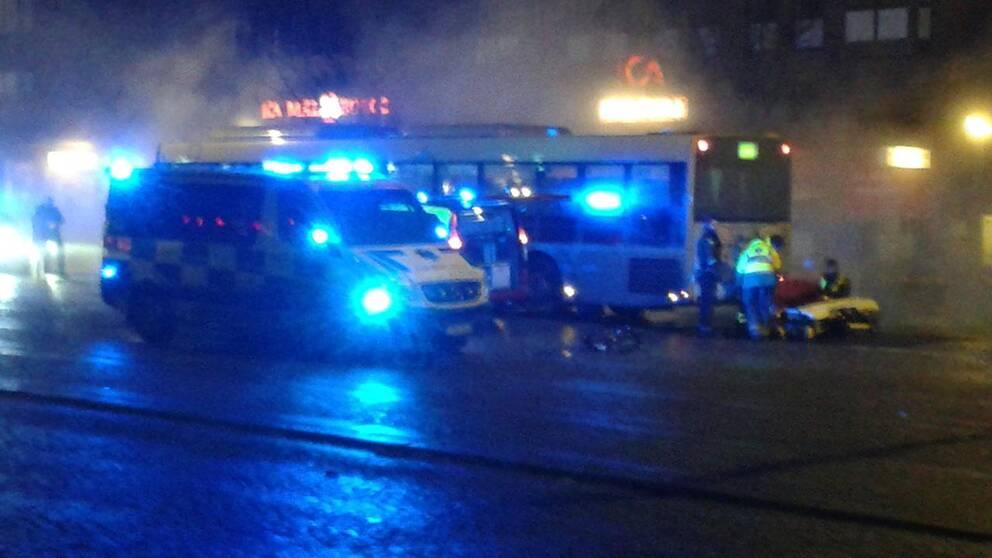 Bussolycka Lund