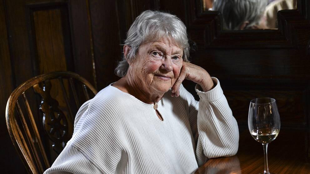 Beckförfattaren Maj Sjöwall blev 84 år