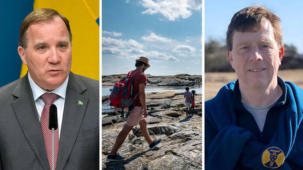 """Svenska Turistföreningens generalsekreterare Magnus Ling: """"Slås besöksnäringen ut i stora delar kommer det ta tid att starta om"""""""