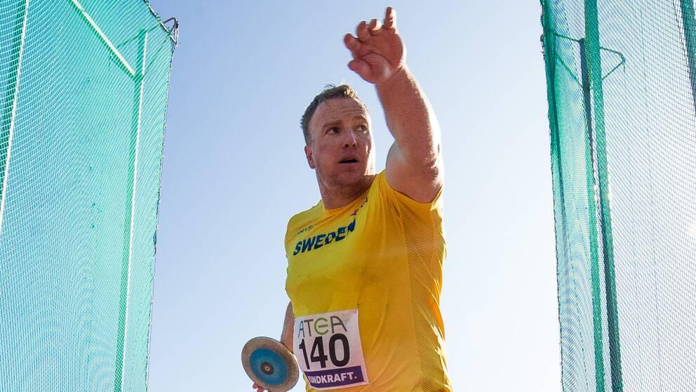 Niklas Arrhenius avslutade tävlade i Finnkampen så sent som i augusti.