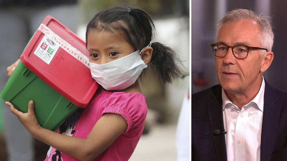 """Jan Albert: """"Virusnivåer är inte den enda orsaken som avgör smittsamhet"""""""