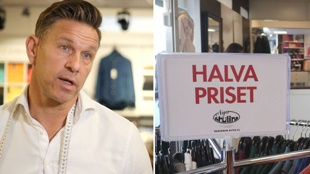 Butiksägaren Christoffer Göthlin kämpar med lönsamheten, men tror att krisen också kan förändra branschen positivt.
